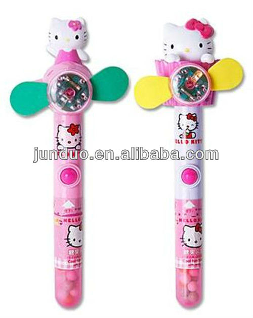 Plastic Hello Kitty Candy Fan,Electronic Hello Kitty Toy Fan ...
