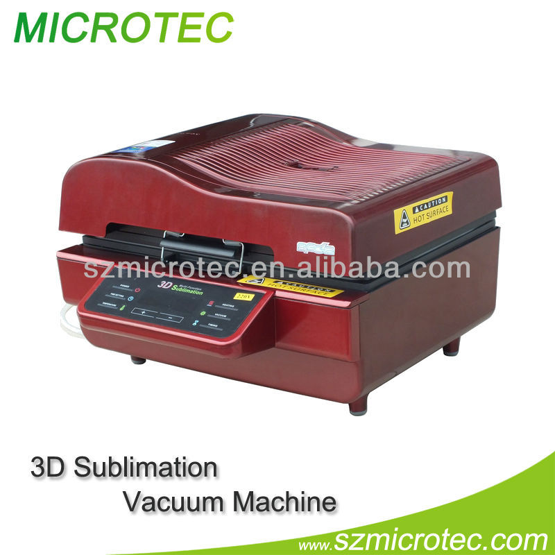 3d sublimation vacuum heat press machine 3d printing