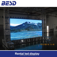 alibaba factory p1.9 p2 p2.5 indoor rental led display high resolution 4k led display screen