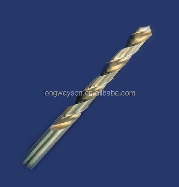 0.68*28 '' High impact Fully ground M35 cobalt co5% Tin coating HSS Twist drills Wholesale price