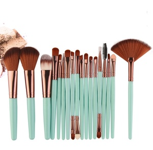 maquiagem 18 pcs makeup custom makeup brushes