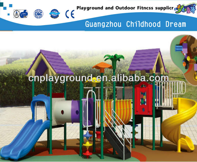 HI BUDDY ,LET'S GO TO PLAY !!!!! PLASTIC OUTDOOR SLIDE BABY PLAYGROUND (HC-10401)