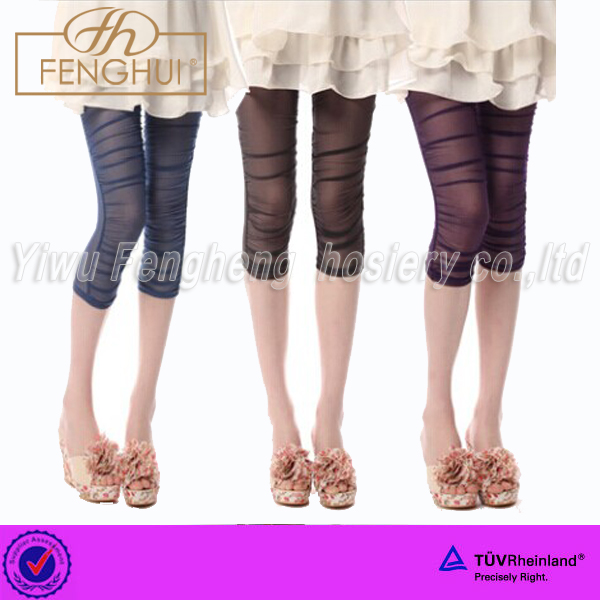 2014 Explosion of single female Xia brand seven minutes of pants Candy color