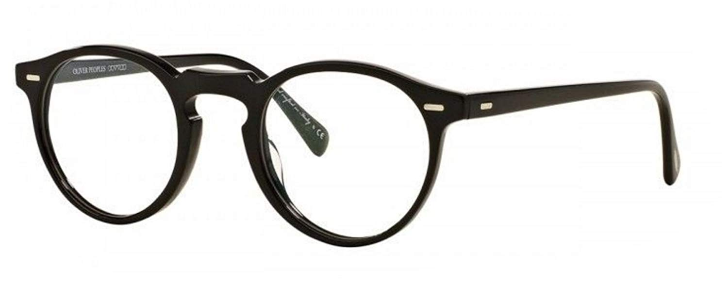 4e648f9734 Get Quotations · New Oliver Peoples OV 5186 1005 Gregory Peck Black Optical  Frame
