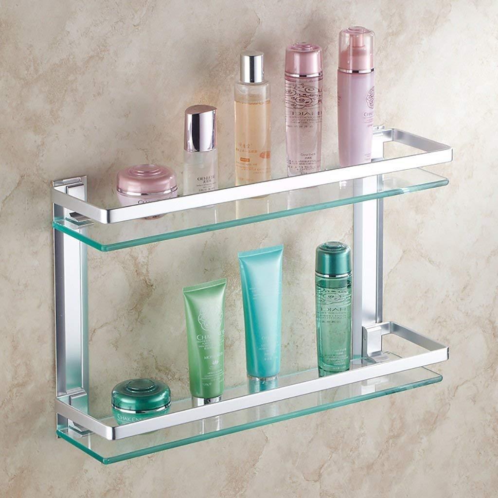 ZBB Glass shelf wall shelf/bath rooms, its size: 40/50/60 cm (size: 40 cm).