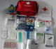 Nylon fabric first aid kit