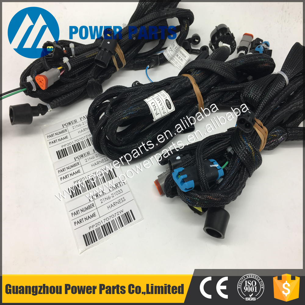Hyundai R210lc 7 Excavator Engine Wire Harness 21n6 21033 For Sale Buy Harnessharness21n6 Product On