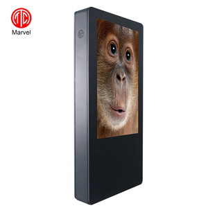 55 Inch 2K 4K LED LCD Display Screen Kiosk, Outdoor Digital Signage With Wifi 4G