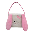Wholesale Monogrammed Pink Lovely Bunny Easter Bucket