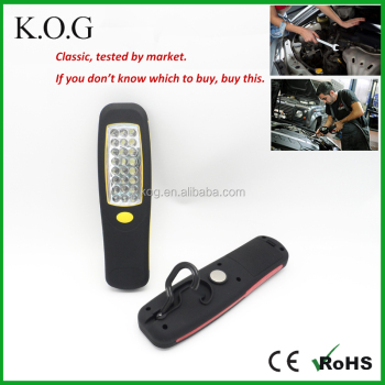 Cordless Hand Held 24 LED Work LED Light with Hang Hook