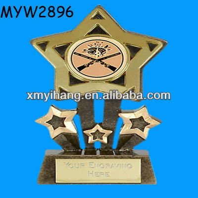 Star Resin clay Pigeon shooting sports trophies
