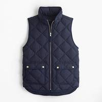 Fashion Spring Womens Excursion Quilted Down Stand Collar Vest