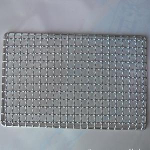 stainless steel wire mesh trays/stainless steel bbq trays