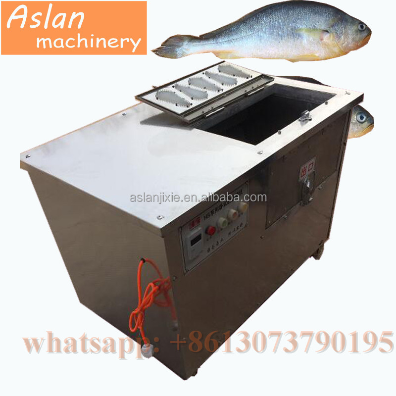 fish scale scraping machine / fish scale remover cleaner machine