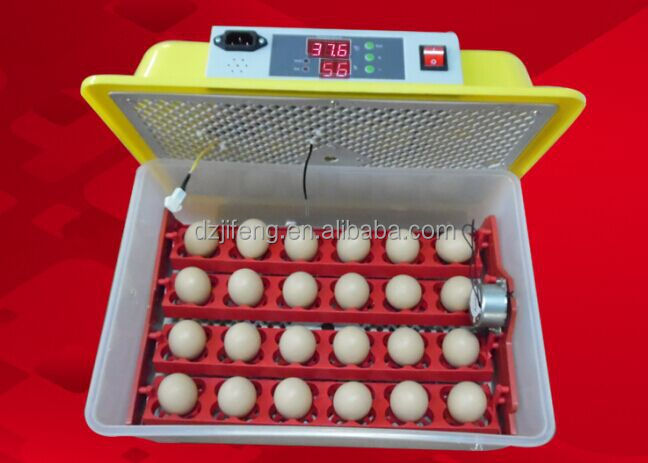 JF- 24 automatic digital egg incubator 24 poultry eggs high quality,for Chicken