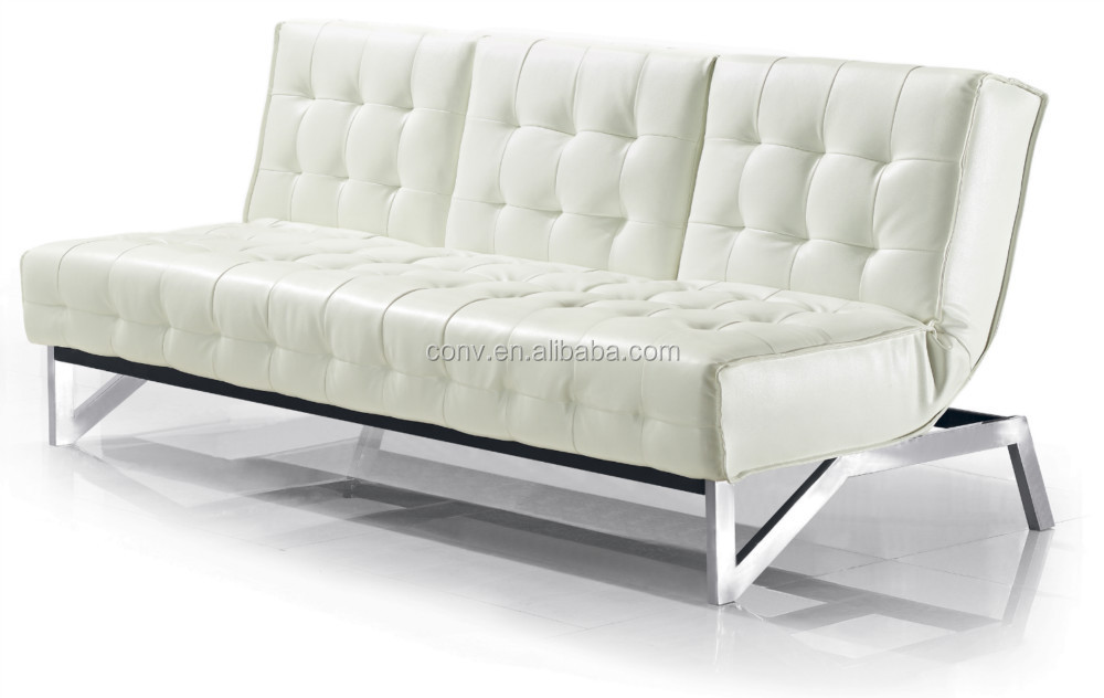 Sectional Futon White Functional Sofa Bed With Split Back