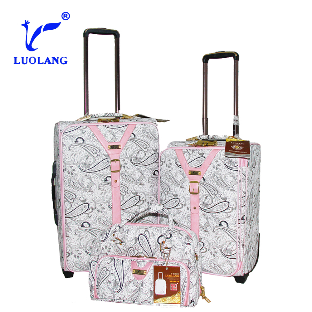 flower painted pattern hot sale best design travelmate carry on trolley luggage/business bags/luggage suitcase spinner luggage