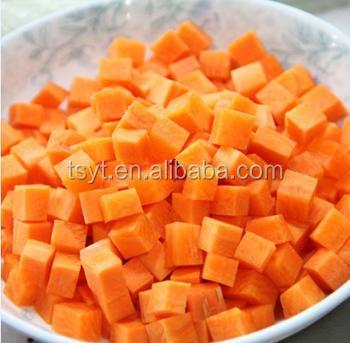 Frozen Iqf Diced Carrot Supplier Exporter Factory Usa Uk Canada ...