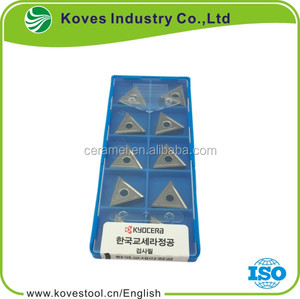 Original Kyocera cutting insert with original models TNGG160402R-B TN60 at discount price