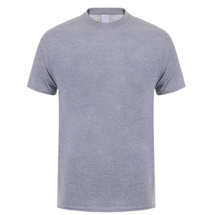 100% combed cotton Men plain white color basic T shirt