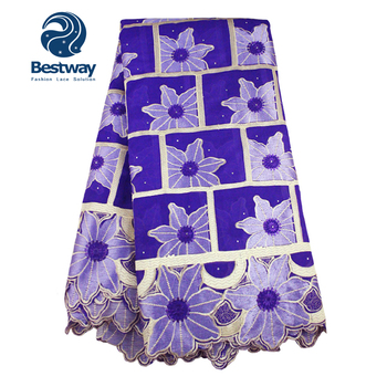 9de5995c61b5 African Wedding Dresses Chinese Sunflower Lace Fabric Manufacturer