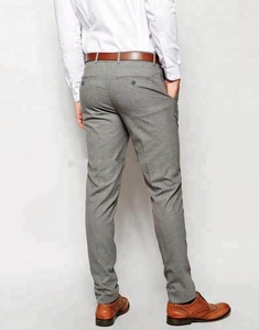 OEM Slim Fit Men Casual Chino Khaki trousers Pants 100% Cotton Twill Slim Straight Chinos Pants