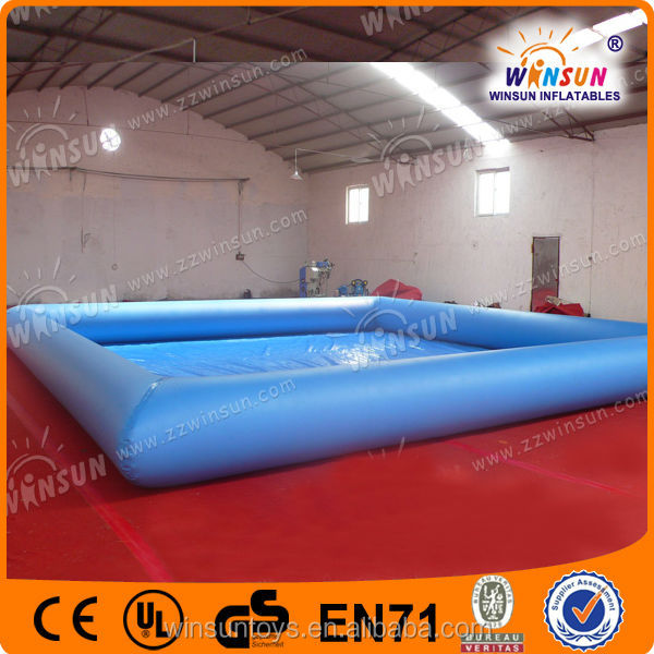 work delicate hot-selling CE certificate big inflatable swimming pool