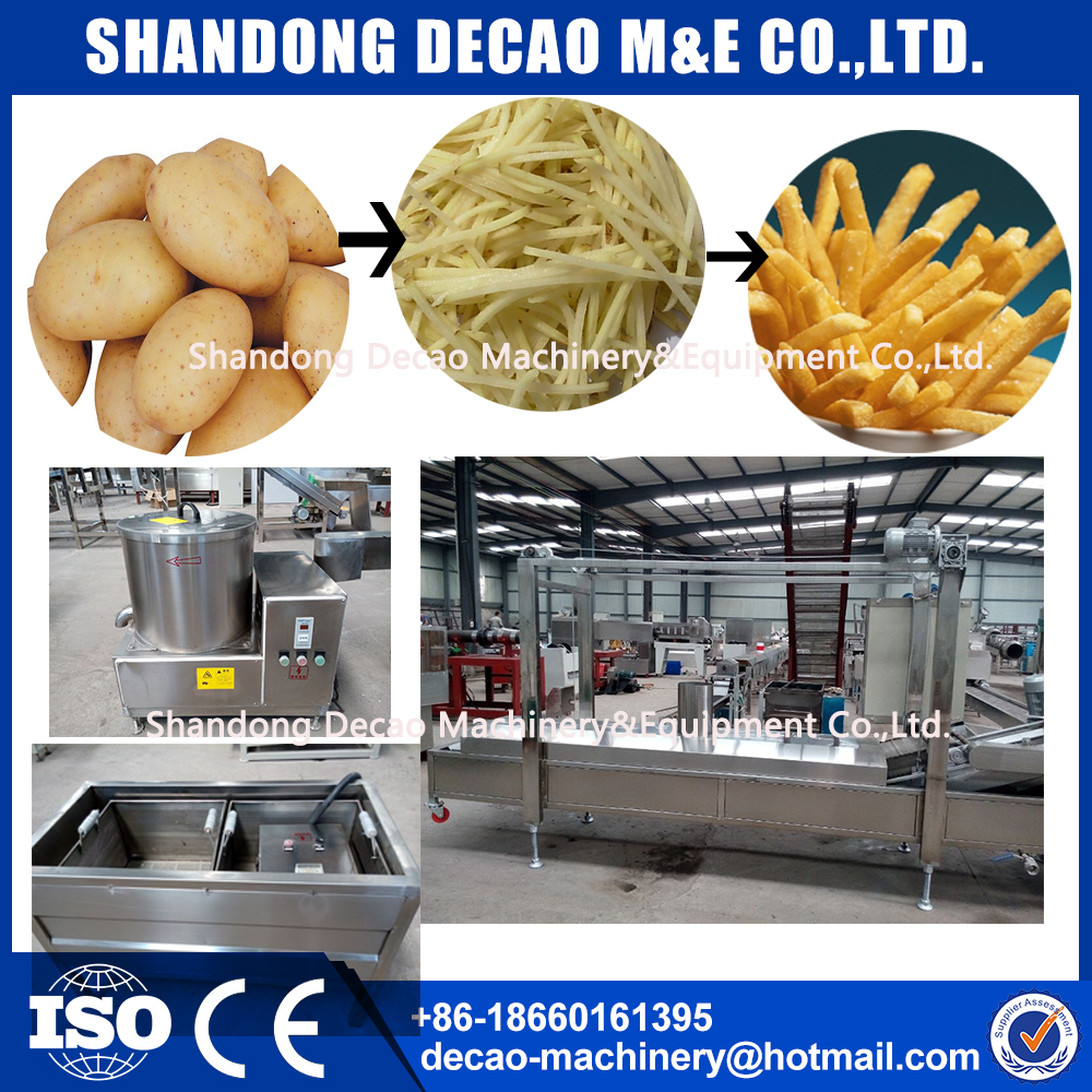 potato chips flakes stick processing line
