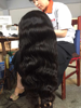 24 inches body wave wig virgin remy human hair full lace wig