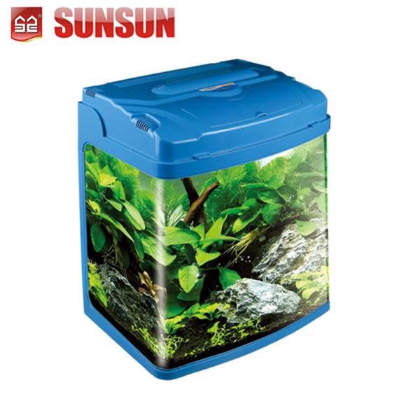 Sunsun Gs,Ce Mini Dekorativen Glas Aquarium Mit Blick Aquarium T5 Licht Buy Glas Aquarium,Fisch Aquarium,Mini Tisch Aquarium Product on