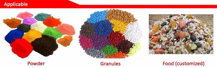 Automatische Hars pellets plastic korrels materiaal plastic hars mixer machine plastic grondstof mixer