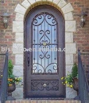 Estilo Cl 225 Sico Puerta De Metal Puerta De Hierro Metal