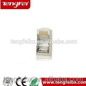 Welcome OEM gold plated cat5e RJ45 FTP STP lan Cable modular computer Connector