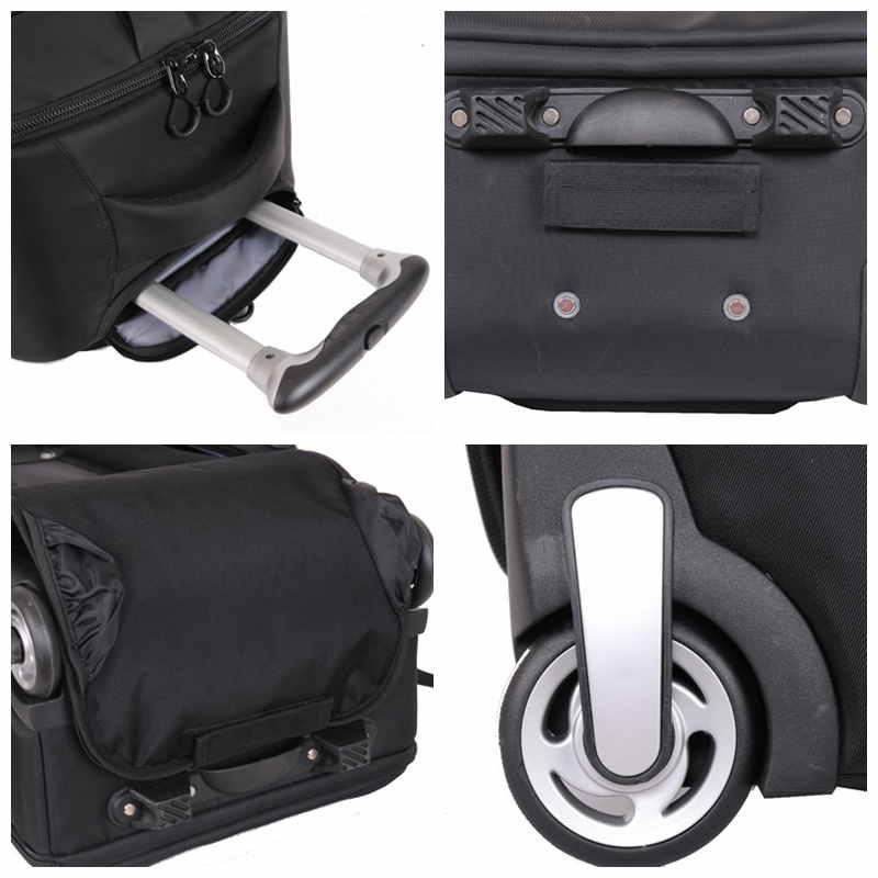 Waterproof Dslr Camera Bag Rolling Backpack Trolley Bag - Buy ... 714b65d208
