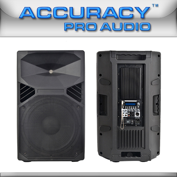 Professional Active Full Range Amplified Loudspeaker Cmq15apusb ...