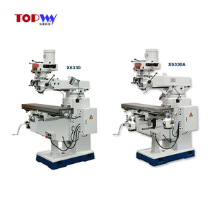 X6330 Metal Manual SINO DRO Vertical Turret Milling Machine Cutter Tools for sale