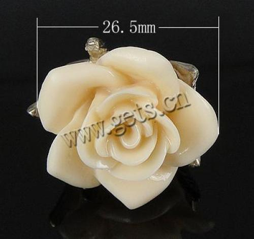 new flower original coral finger ring nature coral ring 645880