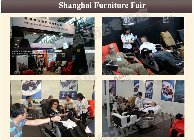 Massage Funiture  / Full Body Air Message Chair with vending / Massage Sex Chair