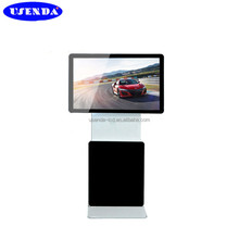 42 inch Standalone backlit LCD screen rotary digital touch screen advertising player