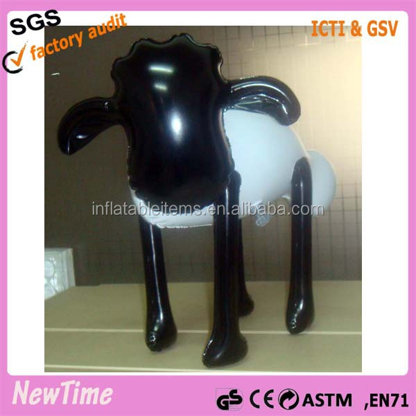 custom PVC inflatable sheep toys for kids