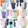 5 PCS Wholesale Newborn Clothes Boy 100% Cotton Baby Jumpsuit Romper
