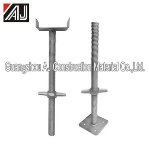 Metal jack base scaffolding