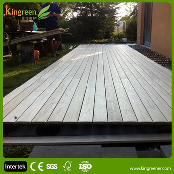Deck Construction For Roof Choose Wood Plastic Composite Decking Green Building Materials