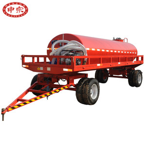 vacuum suction sewage pump equipped with waste water tank trucks in china