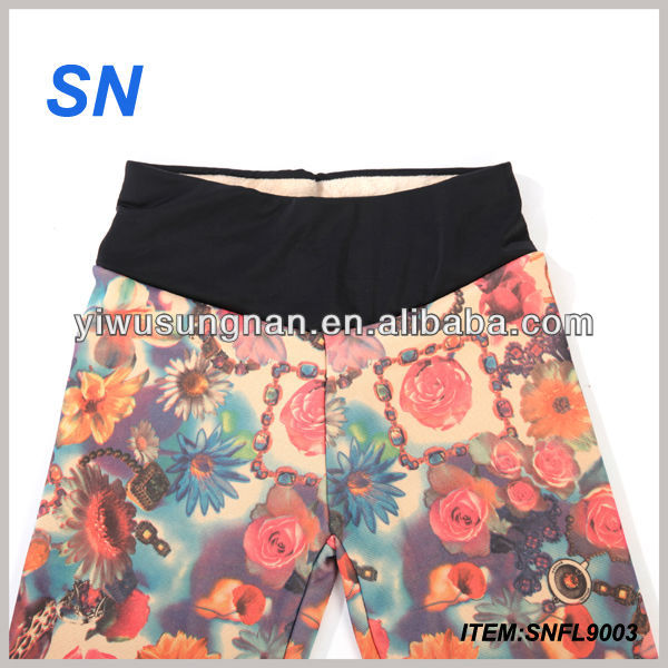 Nieuwste Sunflower Sexy Young Girls Leggings Fancy Leggings