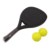 Beach Ball Racket Games Set With Ball,Cheap Pickleball Plastic Paddle Beach Racket