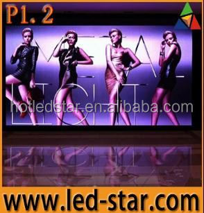 LED STAR HD p1.2 indoor Small pixel led display board project