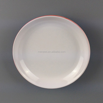 Cheap Round Melamine Dinner Plate Pizza Plates Wholesale Plastic ...