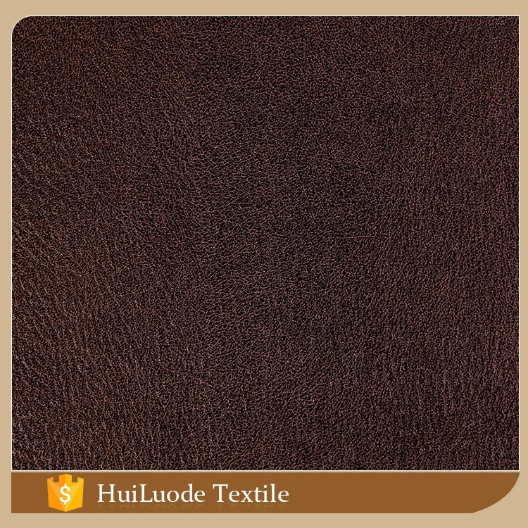 China supplier textile 50D*75D 380gsm bronzed suede 100% polyester sofa fabric samples for wholesales