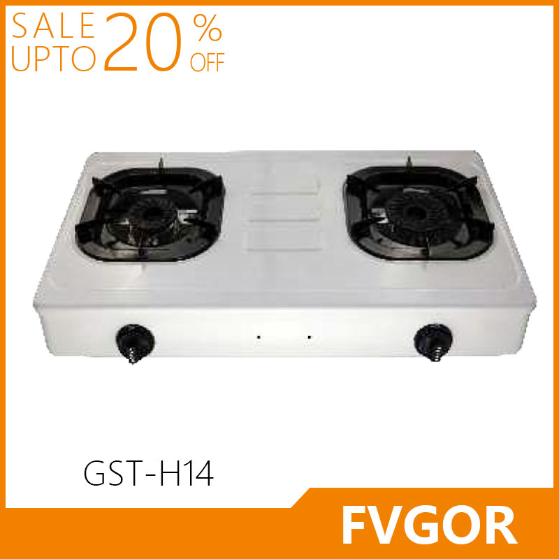 GST-H14 high quality 2 burner stove home kitchen appliance fvgor
